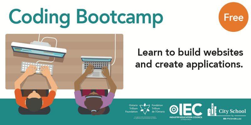 Coding Bootcamp workshops – Software Hamilton